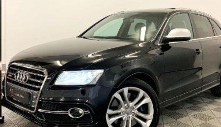 Audi SQ5 TDI 3.0 V6 Q 313hk Pano Navi Eu6