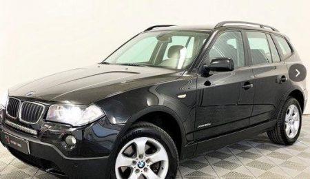 BMW X3 xDrive20d Automat 177hk Drag